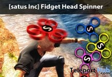 Fidget Head Spinner Group Gift by [satus Inc] - Teleport Hub - teleporthub.com