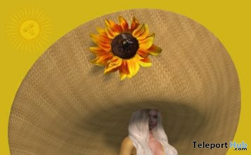 Freebie Sun Hat Gift by June Trenkins - Teleport Hub - teleporthub.com