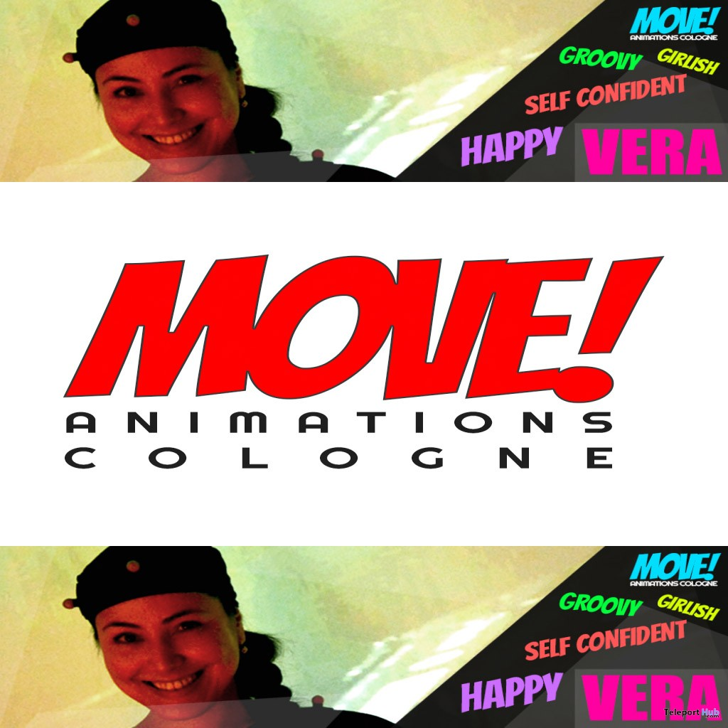 New Release: Vera Dance Pack by MOVE! Animations Cologne - Teleport Hub - teleporthub.com