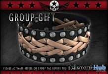 Leather Cross-wrapped Bracelets Group Gift by REBELLION - Teleport Hub - teleporthub.com