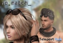 Necklace & Armband Unisex June 2017 Group Gift by no.match - Teleport Hub - teleporthub.com