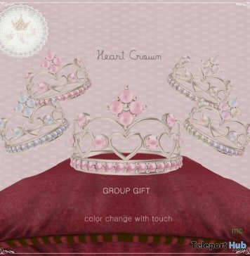 Heart Crown Group Gift by Tiny Trinkets - Teleport Hub - teleporthub.com