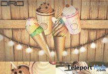 Ice Cream Delight June 2017 Group Gift by DRD - Teleport Hub - teleporthub.com
