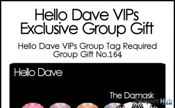 The Damask Nail Appliers Group Gift by Hello Dave - Teleport Hub - teleporthub.com