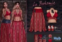 La Bohemia Outfit Group Gift by Beautiful Dirty Rich - Teleport Hub - teleporthub.com