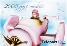 Airplane 2000 Members Group Gift by Belle Epoque - Teleport Hub - teleporthub.com
