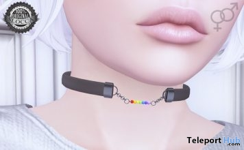 Pride Collar 2017 Group Gift by Ama. - Teleport Hub - teleporthub.com