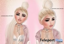 QTPIE Hair Cutie Loot Event June 2017 Group Gift by Love Hair - Teleport Hub - teleporthub.com