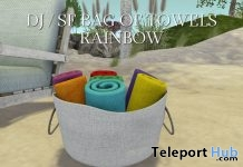 Bag & Towel Rainbow Second Pride Festival Gift by Shutter Field - Teleport Hub - teleporthub.com
