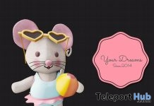 Mice Beach June 2017 Group Gift by Your Dreams - Teleport Hub - teleporthub.com