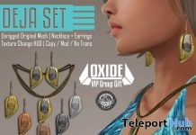 Deja Jewelry Set Group Gift by OXIDE - Teleport Hub - teleporthub.com