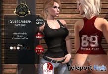 Tank Top With Texture HUD June 2017 Subscriber Gift by Curve - Teleport Hub - teleporthub.com