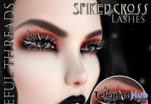 Spiked Cross Lashes Group Gift by Vengeful Threads - Teleport Hub - teleporthub.com