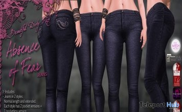 Absence of Fear Jeans Group Gift by Beautiful Dirty Rich - Teleport Hub - teleporthub.com