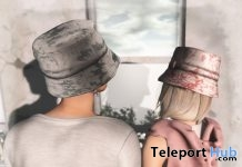 Bucket Hat Floral Blue & Pink Unisex Group Gift by K - Teleport Hub - teleporthub.com