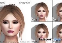 Bento Facial Poses Pack 03 Group Gift by Chrysanthemum's - Teleport Hub - teleporthub.com