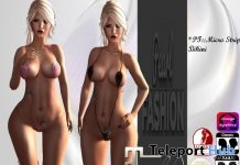Micro Strip Bikini Gift by Pearl Fashion - Teleport Hub - teleporthub.com