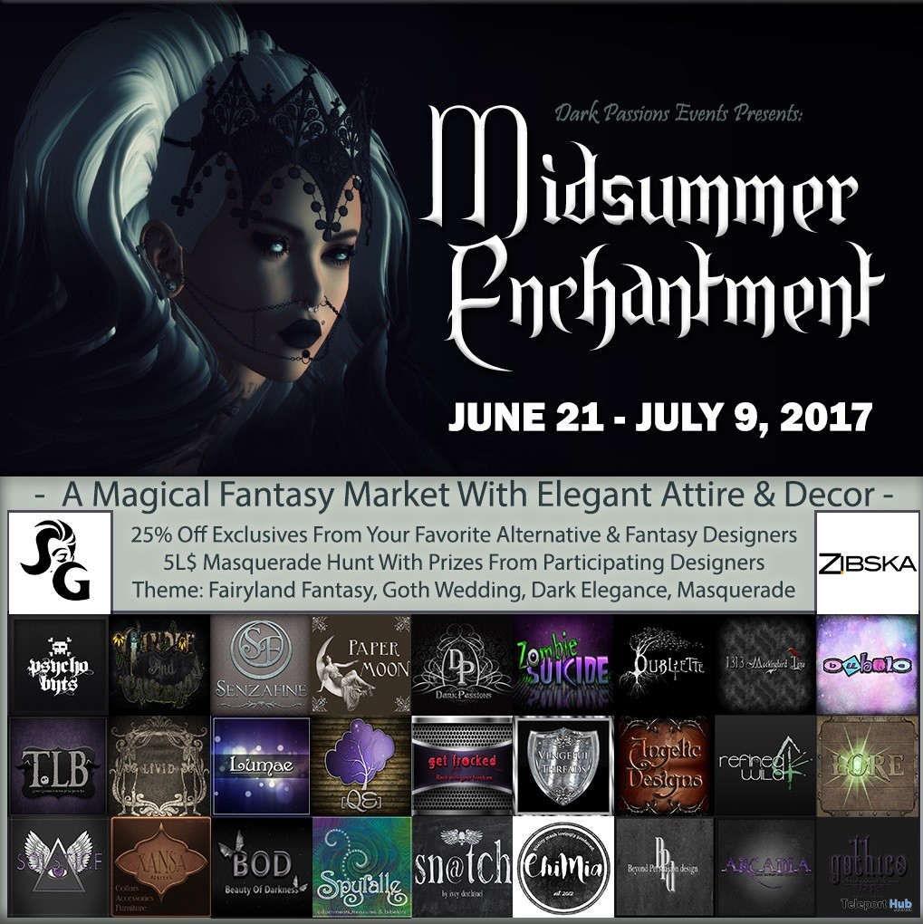 Midsummer Enchantment 2017 Fair & Hunt - Teleport Hub - teleporthub.com