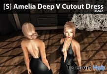 New Release: [S] Amelia Deep V Cutout Dress by [satus Inc] - Teleport Hub - teleporthub.com