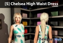 New Release: [S] Chelsea High Waist Dress by [satus Inc] - Teleport Hub - teleporthub.com