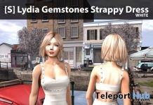 New Release: [S] Lydia Gemstones Strappy Dress by [satus Inc] - Teleport Hub - teleporthub.com