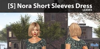 New Release: [S] Nora Short Sleeves Dress by [satus Inc] - Teleport Hub - teleporthub.com