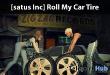 Roll My Car Tire 60L Promo by [satus Inc] - Teleport Hub - teleporthub.com