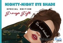 Nighty-Night Eye Shade Special Edition Group Gift by Poeme - Teleport Hub - teleporthub.com