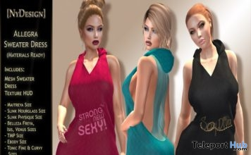Allegra Sweater Dress Group Gift by NyDesign - Teleport Hub - teleporthub.com