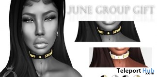 Queen Chain Choker June 2017 Gift by QUEENZ - Teleport Hub - teleporthub.com