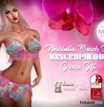 Marbella Beach Set 1L Promo Gift by Unscrupulous - Teleport Hub - teleporthub.com