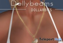 Ivory & Golden Pearl Necklace 1L Promo Gift by Dellybeams Gem Gallery - Teleport Hub - teleporthub.com