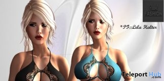 Lela Halter With 10 Colors HUD Gift by Pearl Fashion - Teleport Hub - teleporthub.com