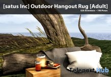 New Release: Outdoor Hangout Rug [Adult] & [PG] by [satus Inc] - Teleport Hub - teleporthub.com