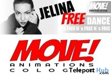 Jelina 16 Dance Gift by MOVE! Animations Cologne - Teleport Hub - teleporthub.com