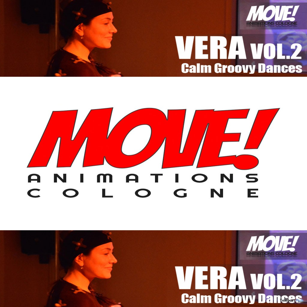 New Release: Vera Vol 2 Dance Pack by MOVE! Animations Cologne - Teleport Hub - teleporthub.com