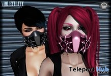 Carbon Masks Group Gift by Violetility - Teleport Hub - teleporthub.com