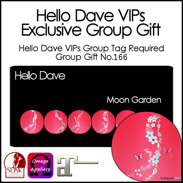 Moon Garden Nail Applier Group Gift by Hello Dave - Teleport Hub - teleporthub.com