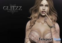 Luna Dress Nude Group Gift by Glitzz - Teleport Hub - teleporthub.com