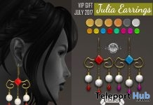 Julia Earrings Group Gift by OXIDE - Teleport Hub - teleporthub.com