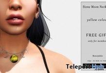Stone Moon Necklace Group Gift by My Fairy Girl - Teleport Hub - teleporthub.com