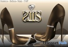 Scarpin Brown Heels 1L Promo Gift by LS Diamond - Teleport Hub - teleporthub.com