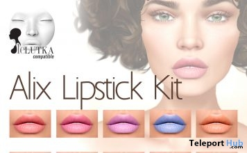 Alix Lipstick Kit Group Gift by The Skinnery - Teleport Hub - teleporthub.com