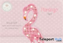 Flamingo Light Group Gift by Tiny Trinkets - Teleport Hub - teleporthub.com