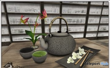 Japanese Rirakkusu Tea Set 50L Promo by Zen Creations - Teleport Hub - teleporthub.com