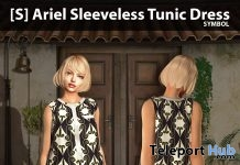 New Release: [S] Ariel Sleeveless Tunic Dress by [satus Inc] - Teleport Hub - teleporthub.com