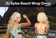 New Release: [S] Kylee Beach Wrap Dress by [satus Inc] - Teleport Hub - teleporthub.com