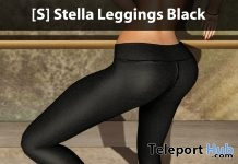 [S] Stella Leggings Black Group Gift by [satus Inc] - Teleport Hub - teleporthub.com