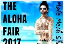 Aloha Beach Short For Male The Aloha Fair 2017 Group Gift by Gypsy Chic - Teleport Hub - teleporthub.com