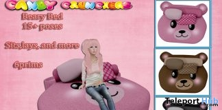 Beary Bed Pink Gift by Candy Crunchers - Teleport Hub - teleporthub.com